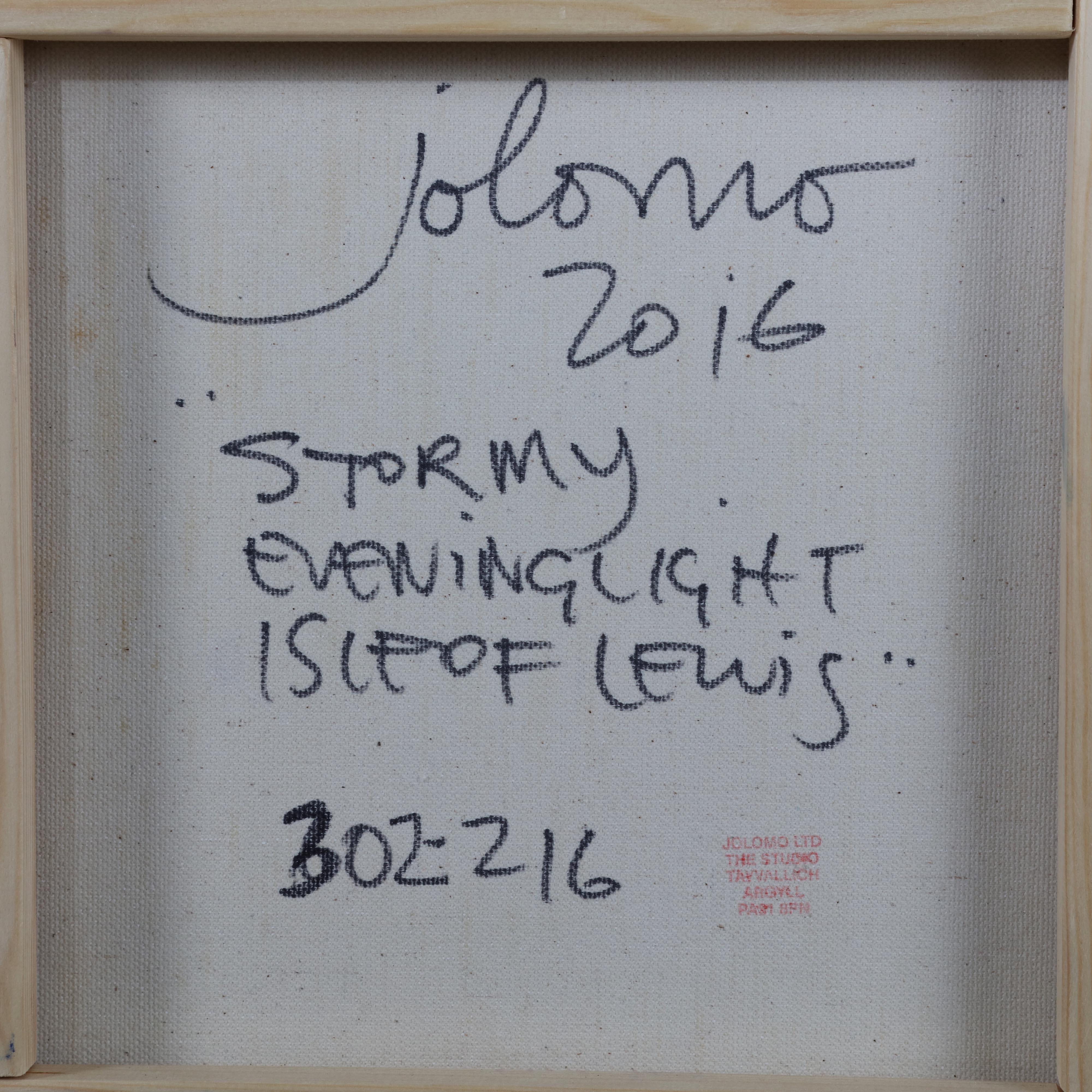 John Lowrie Morrison Stormy Evening Light Isle Of